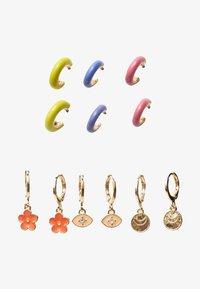 Stradivarius - 6 SET - Earrings - gold - 2