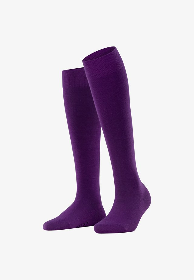 Knee high socks - ultraviolet