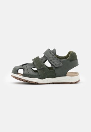 OSCAR UNISEX - Walking sandals - dark green
