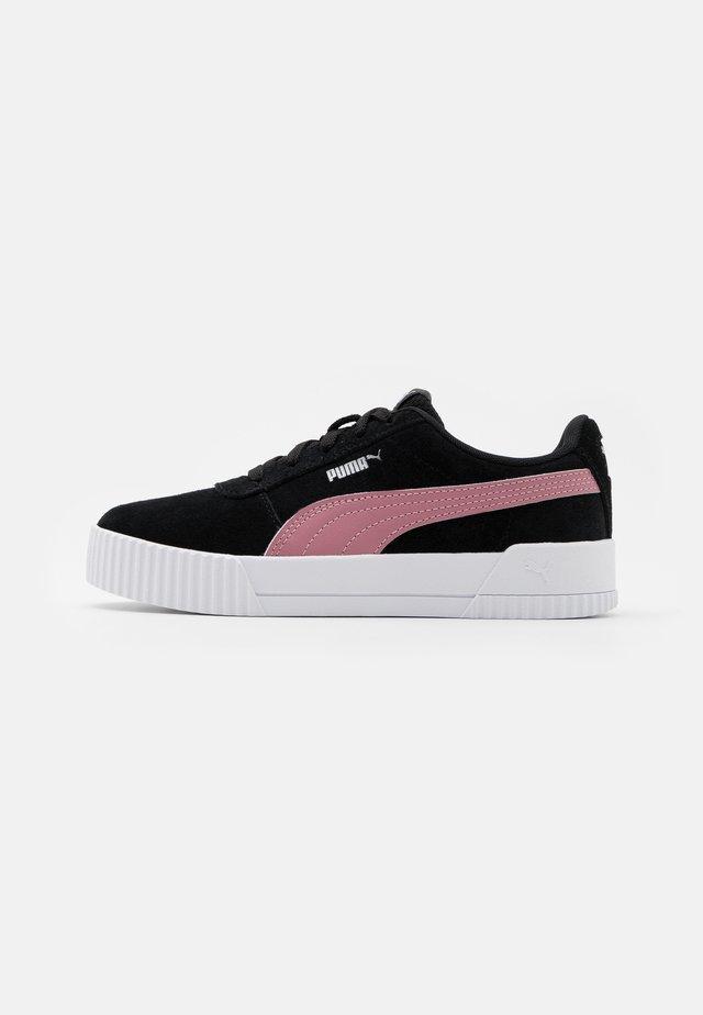 CARINA - Sneakers laag - black/foxglove