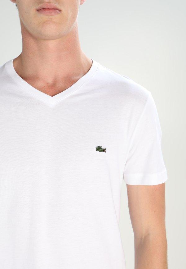 Lacoste T-shirt basic - white/biały Odzież Męska ELBI