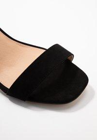 Office Wide Fit - MILLIONS WIDE FIT - Sandals - black - 2