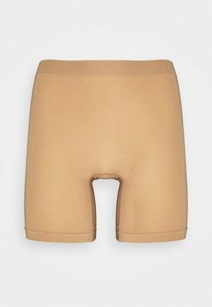 SEAMLESS BIKER HIGH - Pants - beige