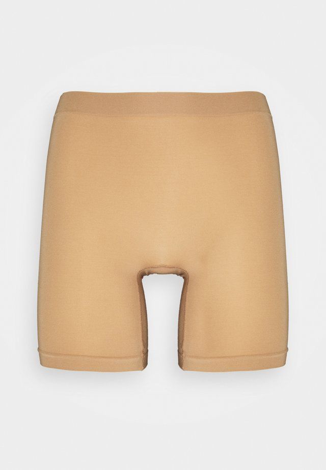 SEAMLESS BIKER HIGH - Pants - beige