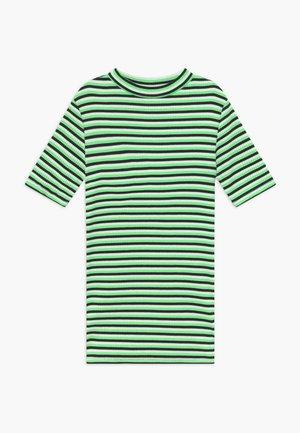 T-shirt med print - indigo