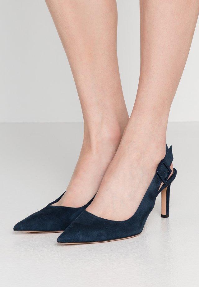 LINDA SLING - Klassieke pumps - night blue