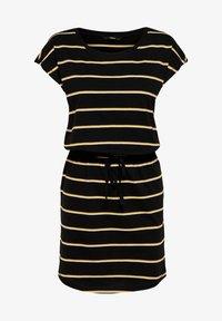 ONLY - MIT KURZEN ÄRMELN - Day dress - black - 4