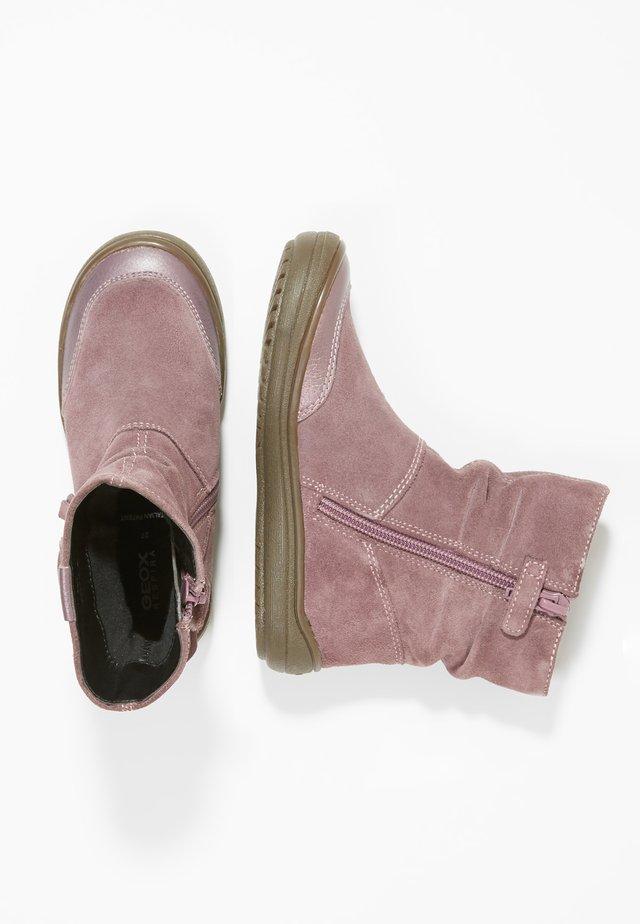 HADRIEL - Baby shoes - light prune