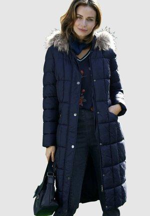 Winter coat - marineblau