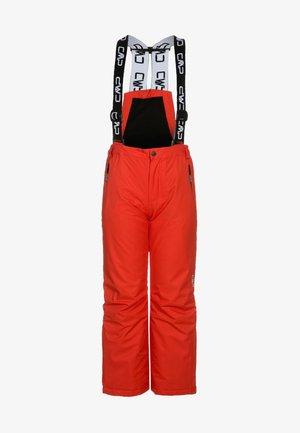 SKI SALOPETTE - Spodnie narciarskie - tango