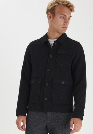 JALTE NEPYARN NEP YARN WOOL BLEND - Light jacket - navy blazer
