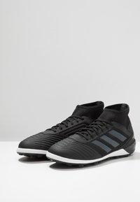 adidas Performance - PREDATOR 19.3 TF - Astro turf trainers - core black/gold metallic - 2