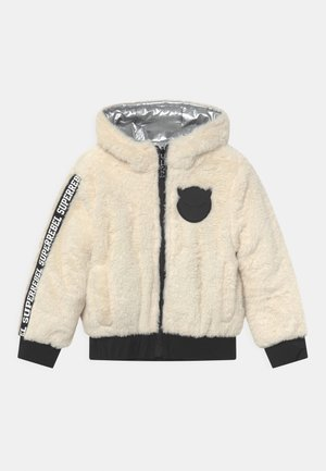 STASH REVERSIBLE UNISEX - Winter jacket - off-white