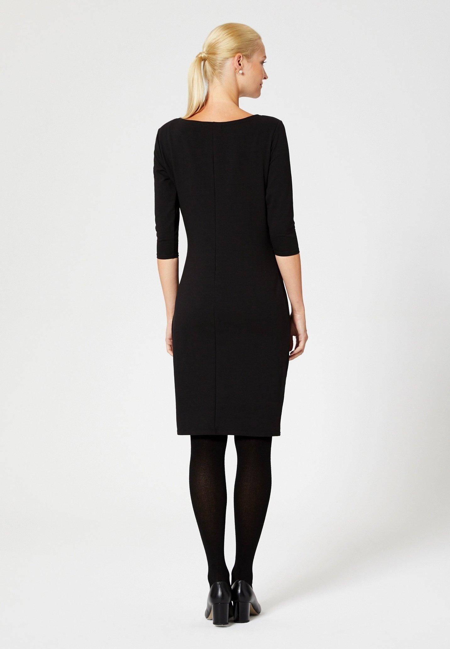 Online Shopping Women's Clothing usha Jersey dress black HZP0FpWRV
