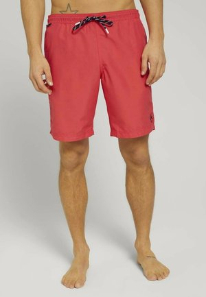 MIT REPREVE - Swimming shorts - plain red