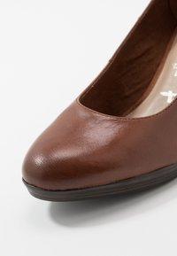 Tamaris - Platform heels - brandy - 2