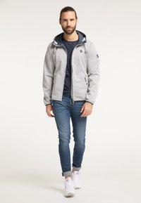 Schmuddelwedda - Outdoor jacket - hellgrau melange - 1