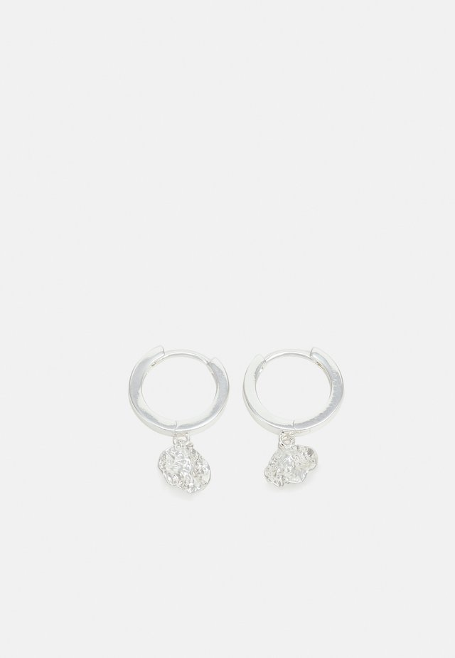 RUE EAR PLAIN - Oorbellen - silver-coloured