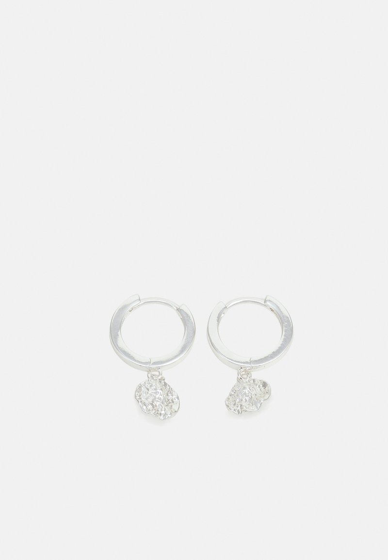 SNÖ of Sweden - RUE EAR PLAIN - Örhänge - silver-coloured