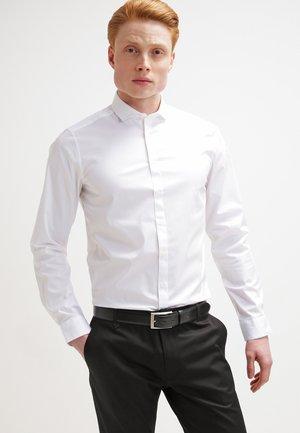 STEEL SLIM FIT - Formal shirt - pure white