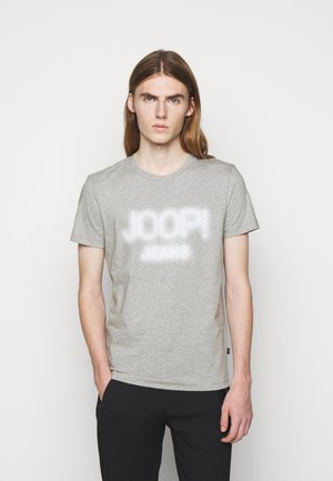 ARISTEO - Print T-shirt - silver