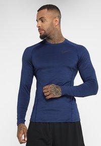 Nike Performance - T-shirt de sport - blue void/black - 0