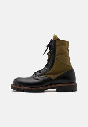 TROOPER BOOT - Lace-up ankle boots - black
