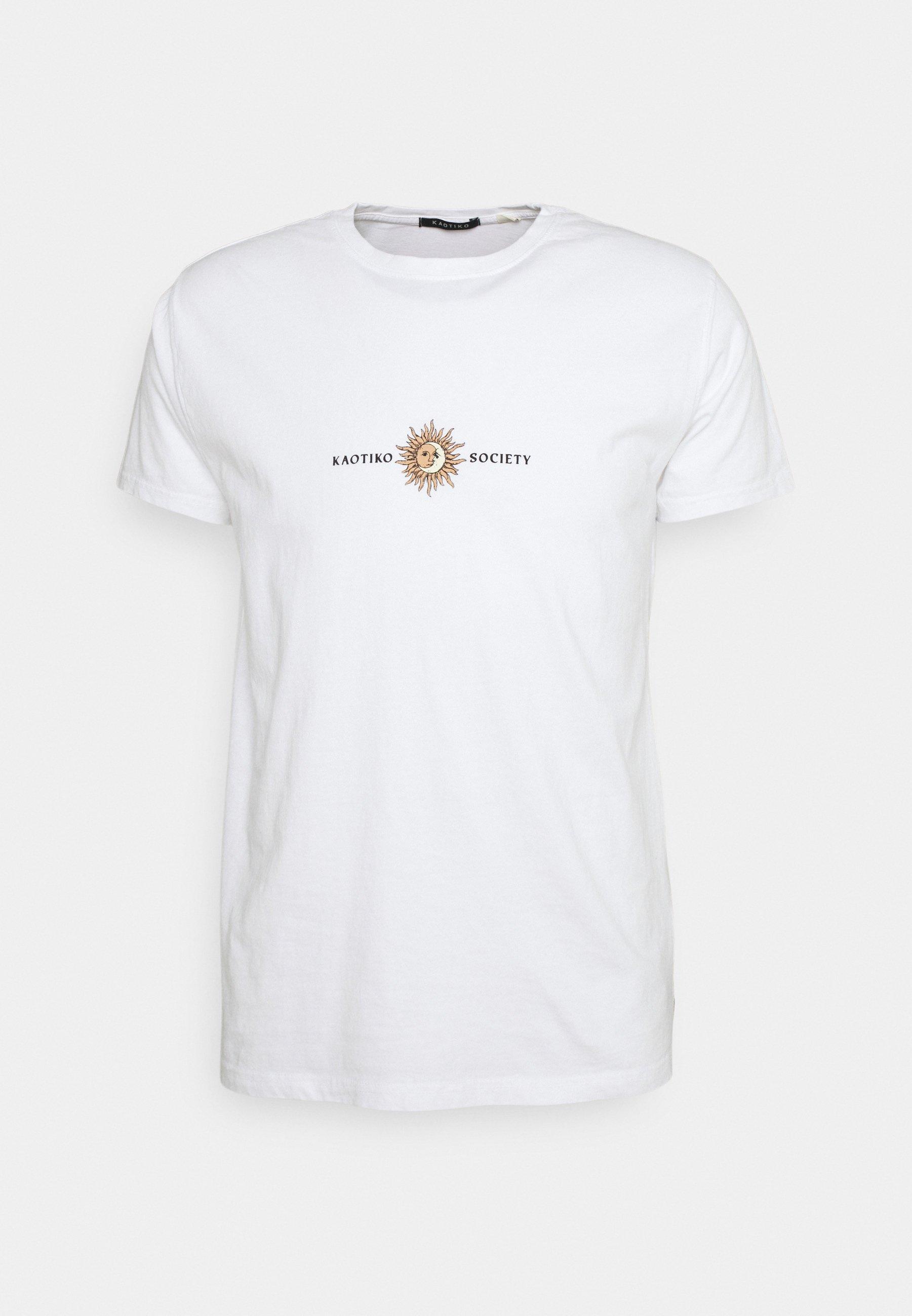 Men SUN WASHED - Print T-shirt