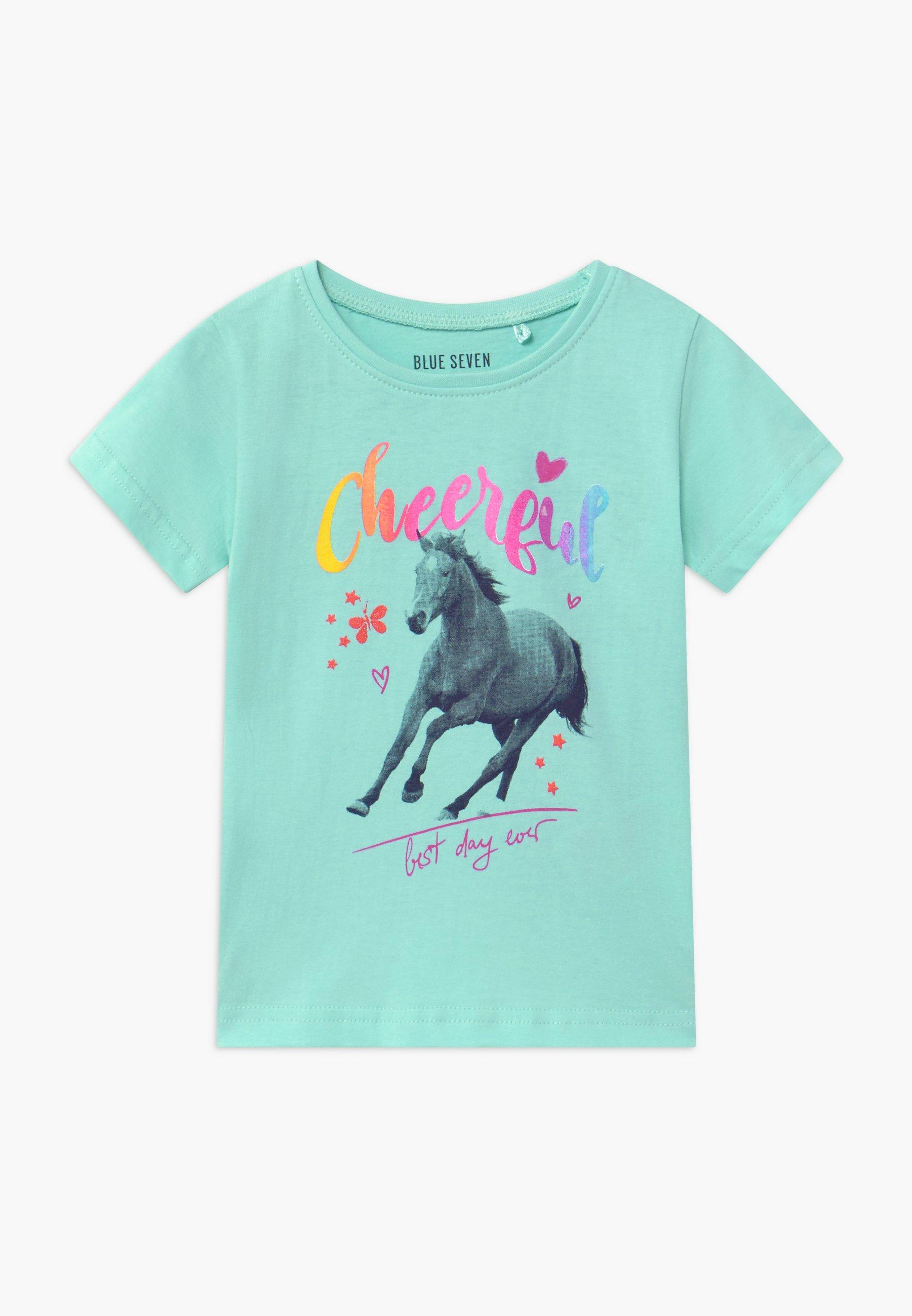 Kids SMALL GIRLS HORSE - Print T-shirt