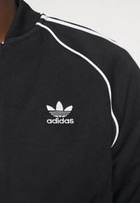 adidas Originals - UNISEX - Veste de survêtement - black/white - 5
