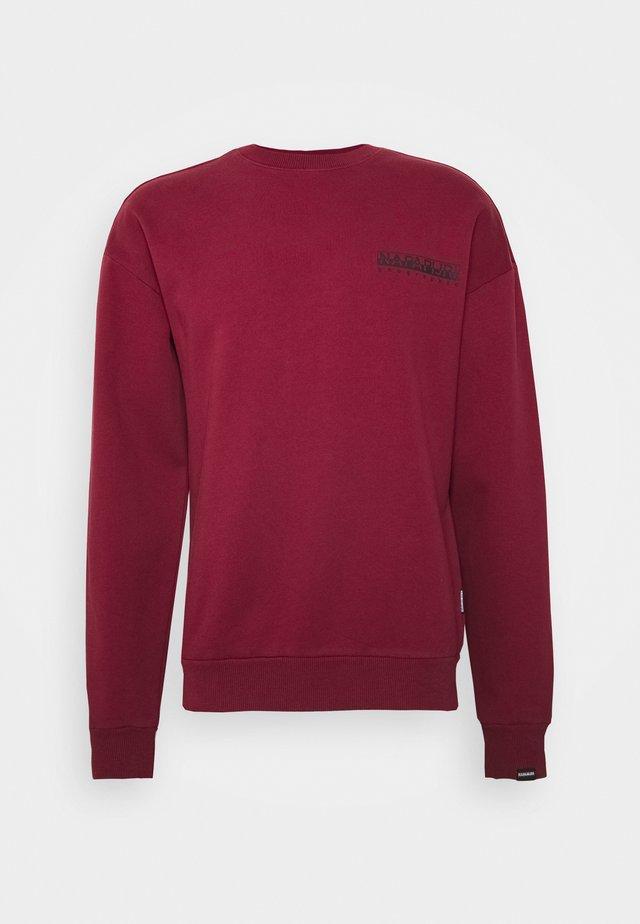 YOIK  UNISEX - Sweatshirt - vint amaranth