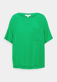 Tommy Hilfiger - BLOUSE - T-shirt basic - primary green - 0