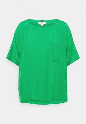 BLOUSE - T-shirt basic - primary green