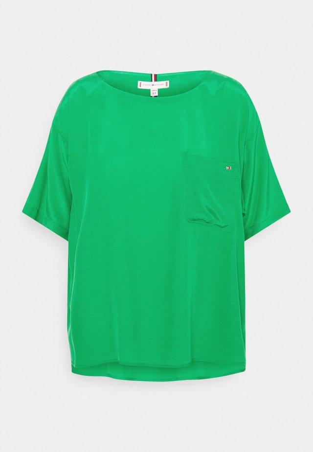 BLOUSE - T-shirt basic - primary green