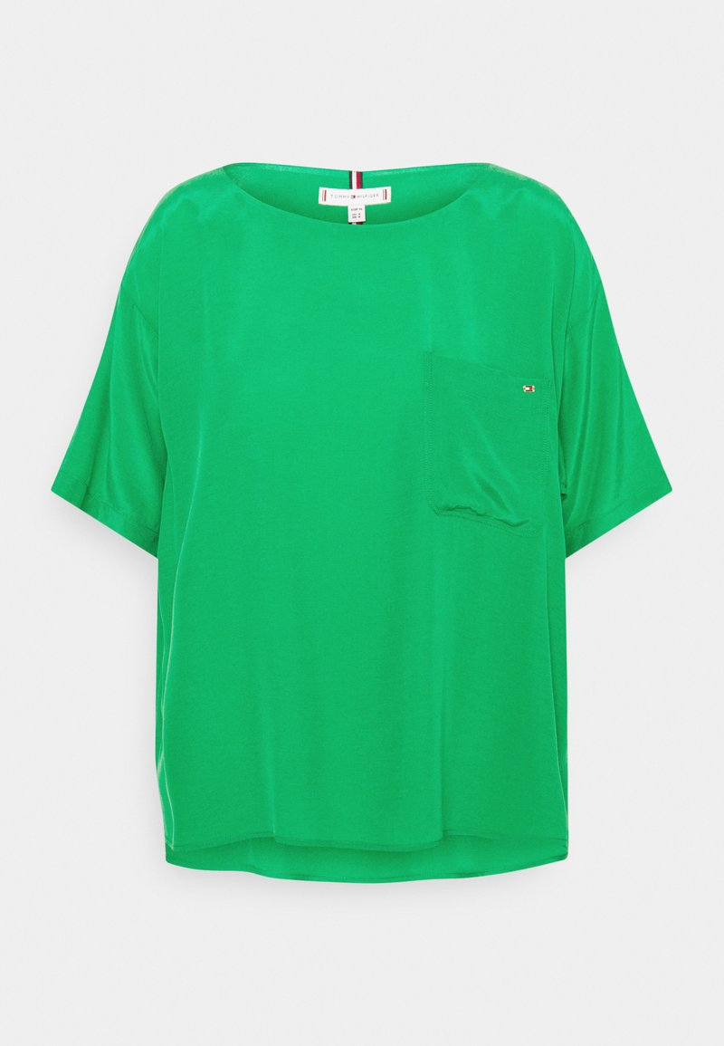 Tommy Hilfiger - BLOUSE - T-shirt basic - primary green