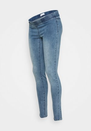MLLOLA - Farkkuleggingsit - medium blue denim