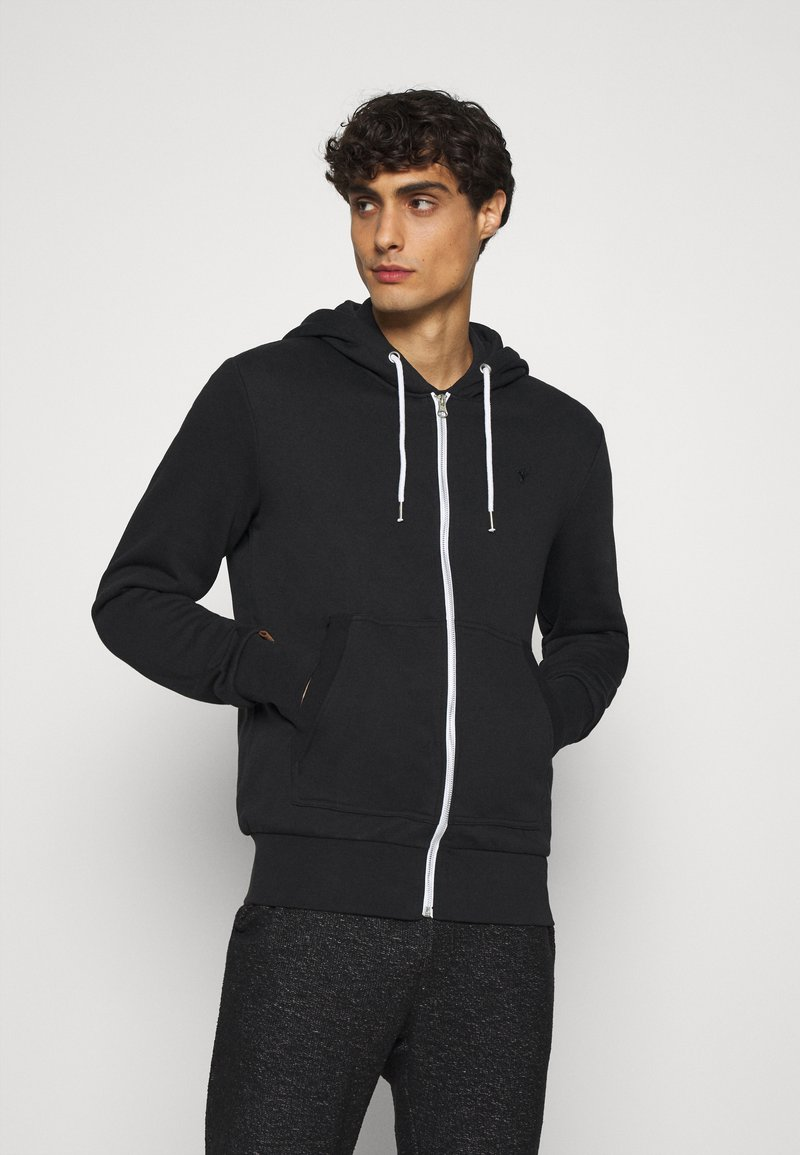 Pier One - Mikina na zip - black