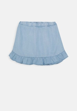 NMFBAJYTTE SKIRT - Mini skirt - light blue denim