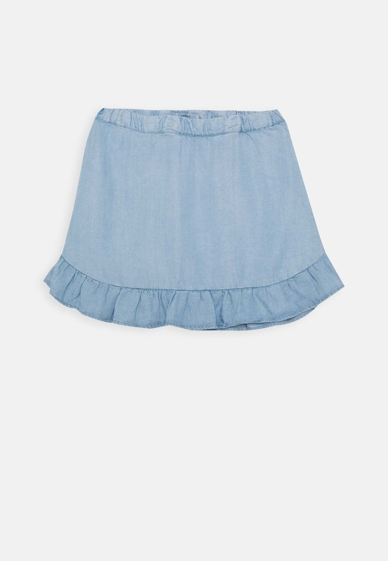 Name it - NMFBAJYTTE SKIRT - Minijupe - light blue denim