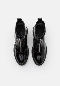 Zign - Platåstøvletter - black - 5