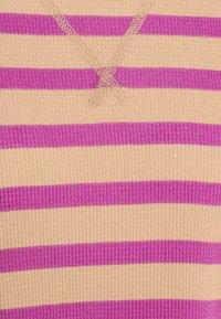GAP - WAFFLE - Long sleeved top - purple stripe - 2