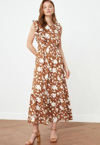 Trendyol - Maxi dress - brown - 0