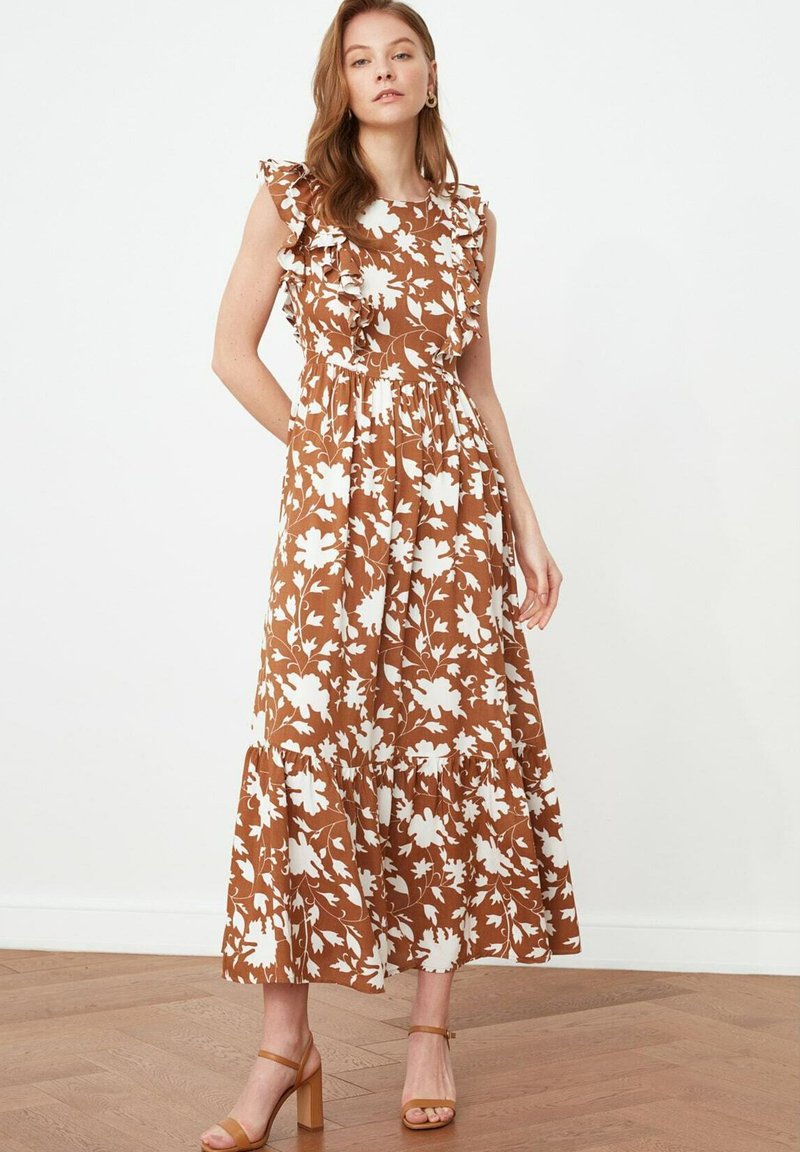 Trendyol - Maxi dress - brown