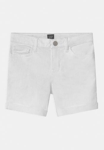 GIRL - Džínové kraťasy - white denim