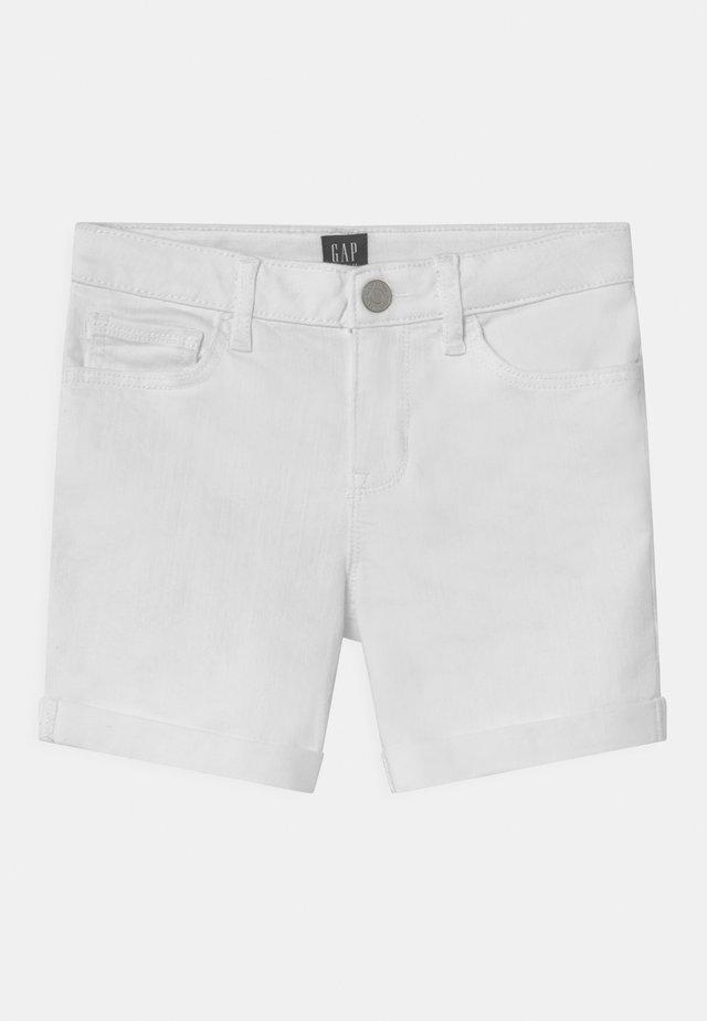 GIRL - Jeansshort - white denim
