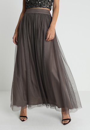 MARIKO SKIRT - Maxi skirt - stone