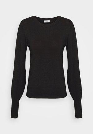 JDYKOMBINA - Stickad tröja - black