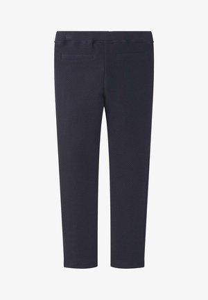 TOM TAILOR HOSEN & CHINO STRUKTURIERTE LEGGINS - Leggings - Trousers - night sky