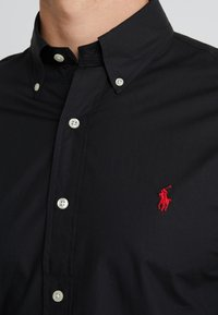 Polo Ralph Lauren - NATURAL SLIM FIT - Shirt - black