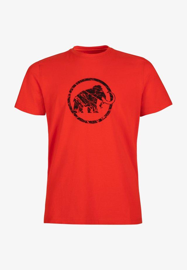T-shirt print - magma